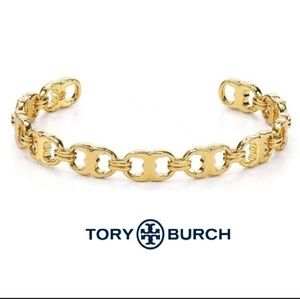 ■Tory Burch■ Gold Gemini Link Delicate Cuff